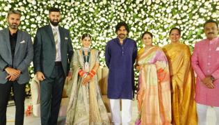 Jayasudha Kapoor son Nihar wedding reception Photo gallery - Sakshi