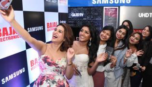 Shraddha Das At Mobile Store Launch - Sakshi