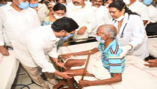 CM Jagan Reaches To Visakhapatnam KGH Hospital - Sakshi