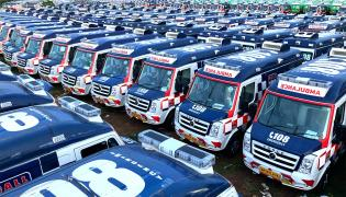 New vehicles soon for 104, 108 ambulance services photo gallery - Sakshi