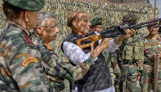 Defence Minister Rajnath Singh Visits Ladakh Photo Gallery - Sakshi