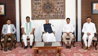 AP New Ministers Swearing Ceremony Photo Gallery - Sakshi