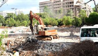 Telangana Secretariat Demolition - Sakshi