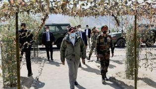 PM Narendra Modi Visit To Ladakh Photo Gallery - Sakshi