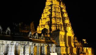 yadadri lakshmi narasimha swamy temple new photos - Sakshi
