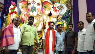 vinayaka chavithi celebrations Photo Gallery - Sakshi