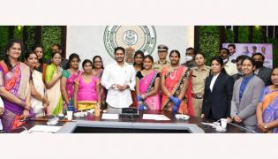 CM YS Jagan Mohan Reddy launch e-Rakshabandhan Photo Gallery - Sakshi