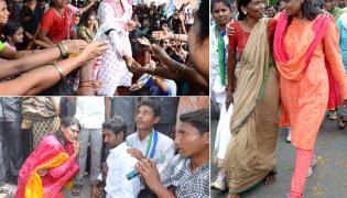 YS Sharmila Maro Praja Prasthanam Padayatra seven years completed Photo Gallery - Sakshi