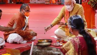 Ayodhya ram mandir bhoomi pooja Photo Gallery - Sakshi