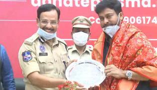 Chiranjeevi Visits Cyberabad PC Office Photo Gallery - Sakshi