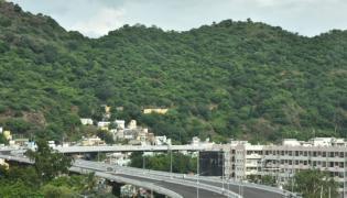 Kanakadurga flyover works completed Photo Gallery - Sakshi