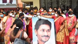 cm ys Jagan Launches ysr Asara Scheme Photo Gallery - Sakshi