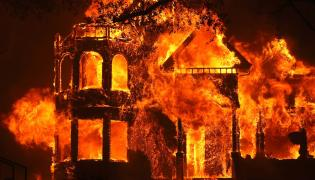California wildfires erupt in wine country Photo Gallery - Sakshi