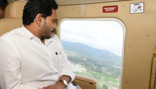CM YS Jagan Aerial Survey Nivar Cyclone Areas Photo Gallery - Sakshi