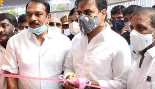 Minister KTR Distributes Double Bed Room - Sakshi