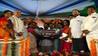YS Jagan Mohan Reddy Lanch YSR Housing Scheme Photo Gallery - Sakshi