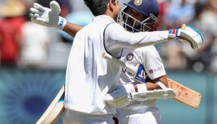 India and Australia at the Melbourne Second Cricket Test Photo Gallery - Sakshi