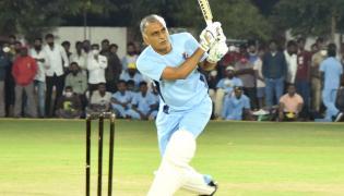 Minister Harish Rao Friendly T20 Cricket Match Siddipet - Sakshi