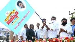 CM YS Jagan To Launch Ration Door Delivery Vehicles  - Sakshi