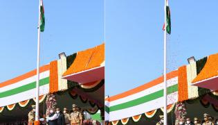 A.P Governor and CM attend Republic Day celebrations Photo Gallery - Sakshi