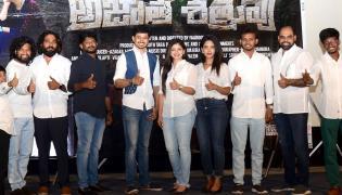 Teaser Launch Of Upcoming Drama Web Series AJATHA SHATRUVU At Prasad Lab - Sakshi