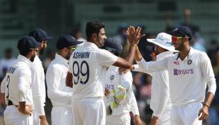 India and England Second Cricket Test Match Photos - Sakshi