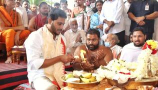 CM YS Jagan In Vizag For Participating Sarada Peetham Annual Festival photos - Sakshi