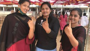 Third phase panchayat election polling in AP‌ Photos - Sakshi