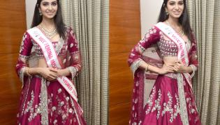 Miss India Interview At Marriott Hotel Photos - Sakshi