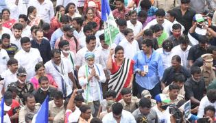MP Vijayasai Reddy Padayatra Successful Over Steel Plant Privatization Photo Gallery - Sakshi
