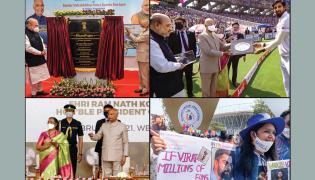 world biggest Motera Cricket Stadium to be called Narendra Modi Stadium Photo Gallery - Sakshi