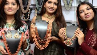 Grand Launch Of Desire Designer Exhibition At Hotel Taj Krishna - Sakshi