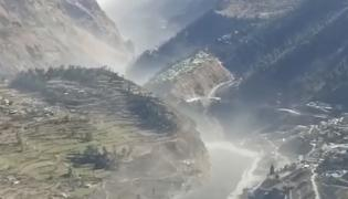 lacier burst leads to massive flash flood in Uttarakhand Photo Gallery - Sakshi