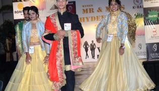 wings model hub presents south india's biggest modeling presant mr & miss hyderabad 2021  - Sakshi