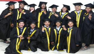 The 13th Convocation Of ICBM - School Of Business Excellence At Attapur  - Sakshi