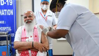 The second stage of corona vaccination Photo Gallery - Sakshi
