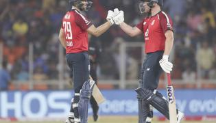 England beat India by 8 wickets in first T20 Photo Gallery - Sakshi