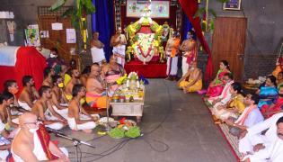 Yadadri brahmotsavalu beginning with Swasti Vachana Puja Photo Gallery - Sakshi