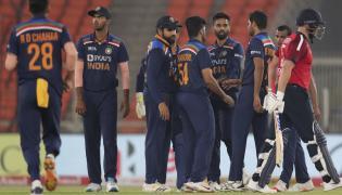 India beat England by 36 runs Photo Gallery - Sakshi