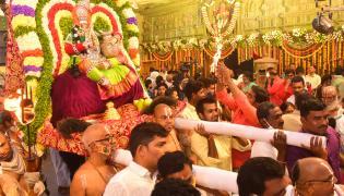 Yadadri Lakshmi Narasimha Swamy Vari Brahmotsavams 2021 - Sakshi