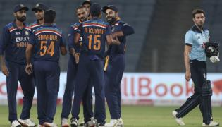 India beat England by 66 runs Photo Gallery - Sakshi