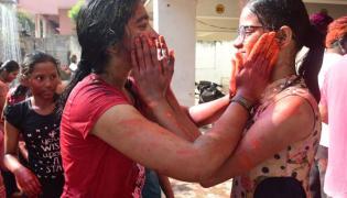 Holi Celebrations In Telangana Photo Gallery - Sakshi