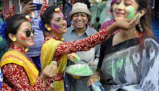 Holi Celebrations Across The Country Photo Gallery - Sakshi