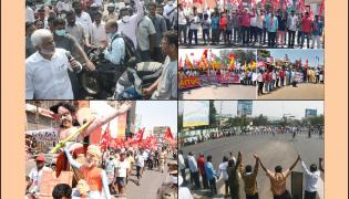 AP Bandh Over Privatization Of Visakhapatnam Steel Plant photo Gallery - Sakshi
