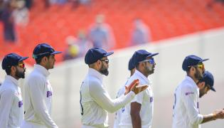 India wrap up victory to make WTC final Photo Gallery - Sakshi