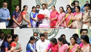 AP CM YS Jagan Participated in International Womens Day Celebrations Photo Gallery - Sakshi