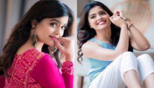 Amritha Aiyer Beautiful Photo Gallery - Sakshi