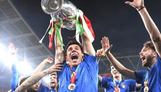 Italy beat England to win the Euro 2020 soccer championships  - Sakshi