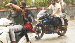 Heavy Rain In Telangana - Sakshi