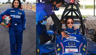 Nivetha Pethuraj has completed Level 1 of the Formula race car - Sakshi